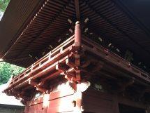 静岡県 天井画(楼門)