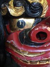 長崎県 神社さま 獅子頭 修理