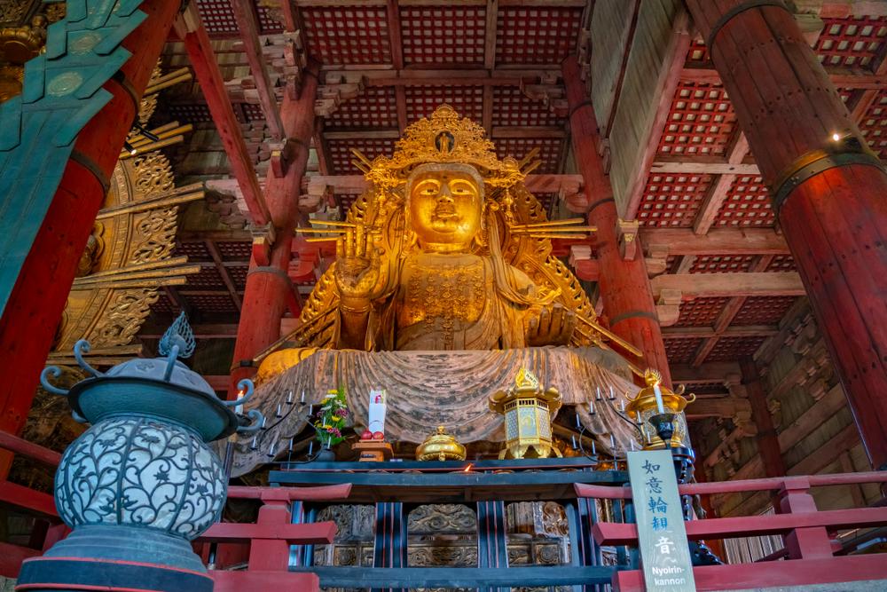 仏像の修理