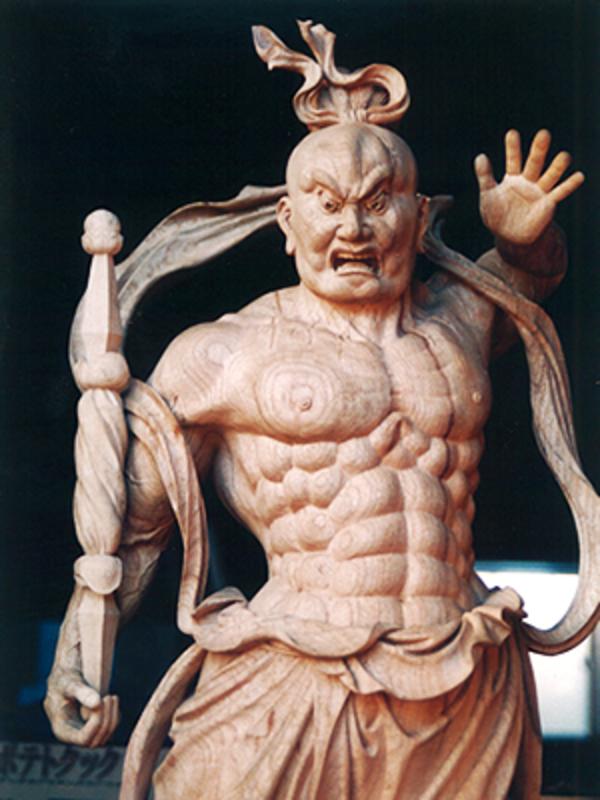 仁王像 6尺(新調)