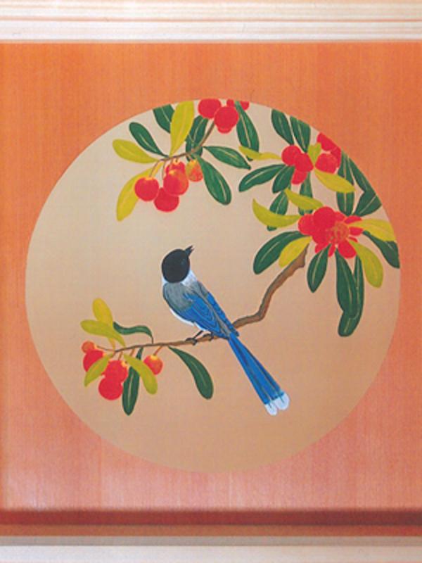 天井画 花鳥図