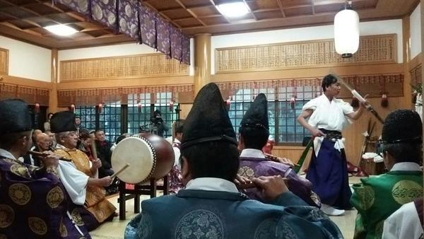壱岐神楽のご紹介