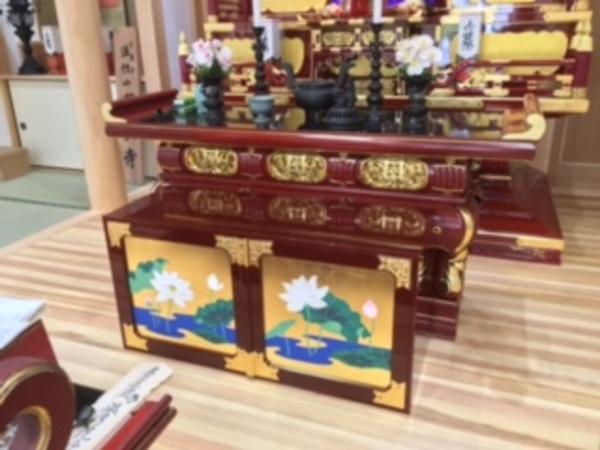 供物壇 など 寺院用仏具(修理・新調)