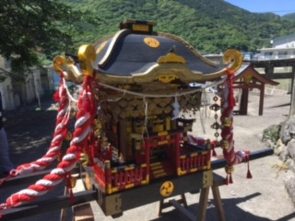 神社 御神輿 修復 長崎県新上五島町