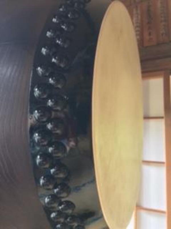 太鼓の皮の貼り替え 静岡県藤枝市