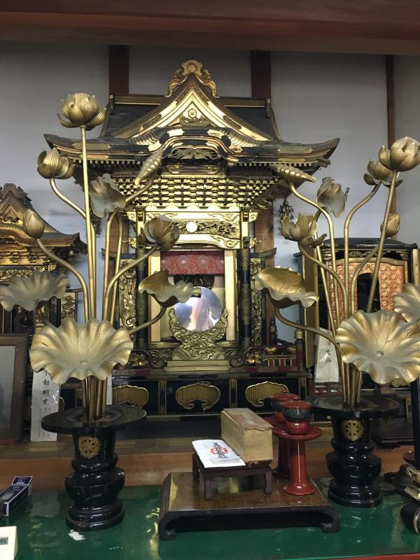 廃寺となった寺院の宗教用具一式について