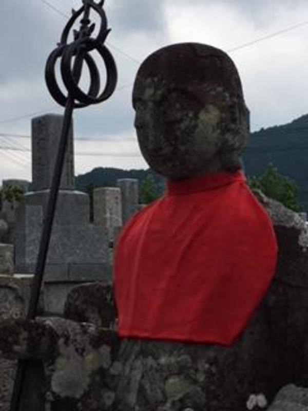 鋳物 錫杖 新調 地蔵菩薩像