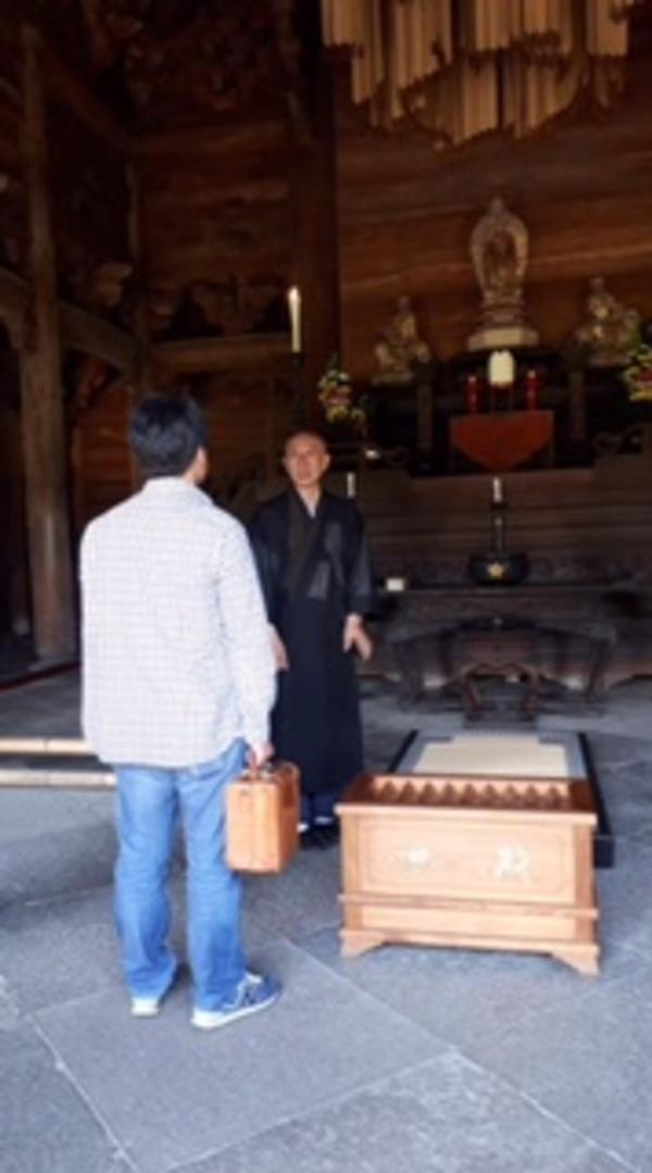 富山県高岡市 国宝 瑞龍寺 訪問