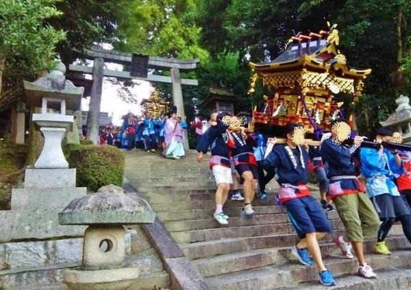 今八幡宮 秋季大祭 (山口営業所ブログ更新)