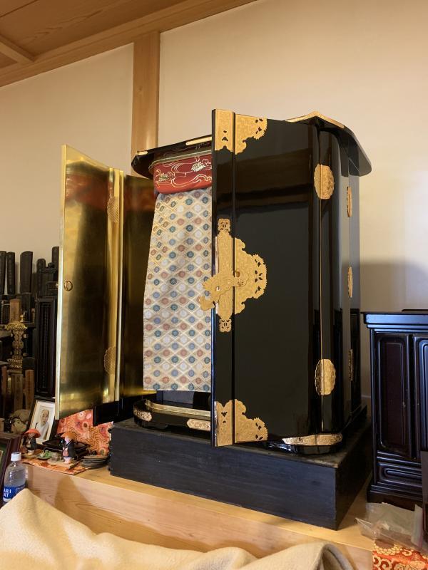 徳島県 弘法大師用厨子 修理 真言宗寺院さま