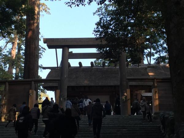 神宮へ初詣に出かけました!