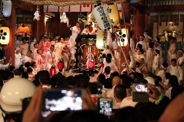 防府天満宮 御神幸祭「裸坊祭」 (防府市) (山口営業所ブログ更新)