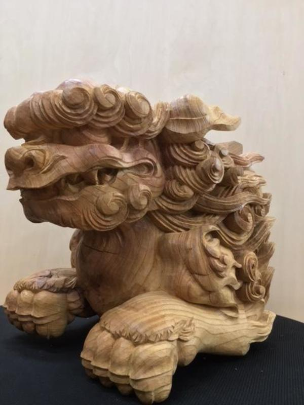 山口県 某寺院様 木鼻 新調納品