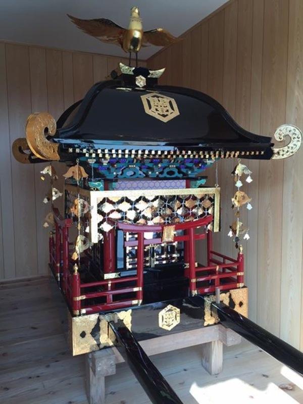 御神輿 修理 (長崎県壱岐市)