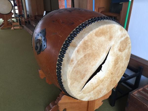 太鼓の修理も承っております!