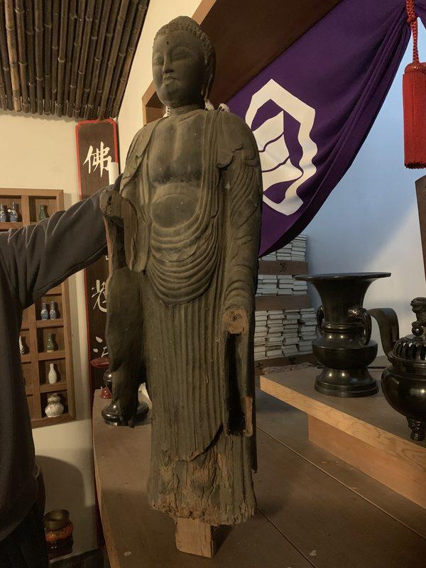 仏像・神像の修理承ります!