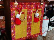 厨子に掛ける「御簾」:三重県四日市市