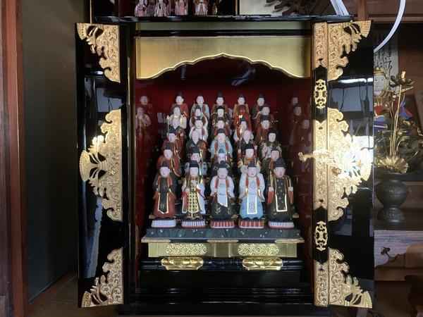三十番神 及び 厨子 修復(日蓮宗)