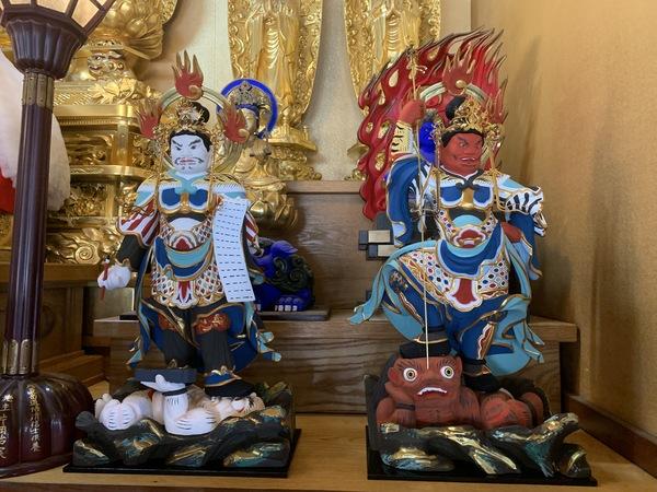 四天王像 修復(日蓮宗) 神奈川県