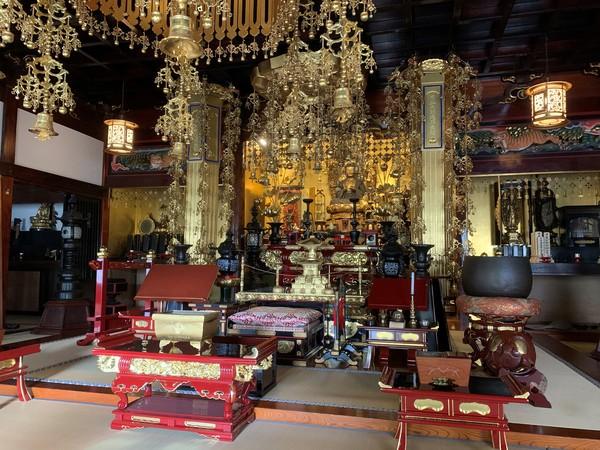 真言宗寺院さま 仏具一括納入(横浜市)